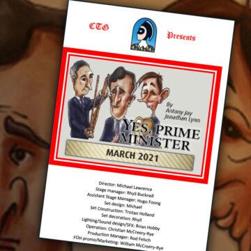 Digital Program for 'Yes, Prime Minister'