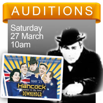 Hancock auditions 27 March