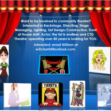Get involved in community theatre